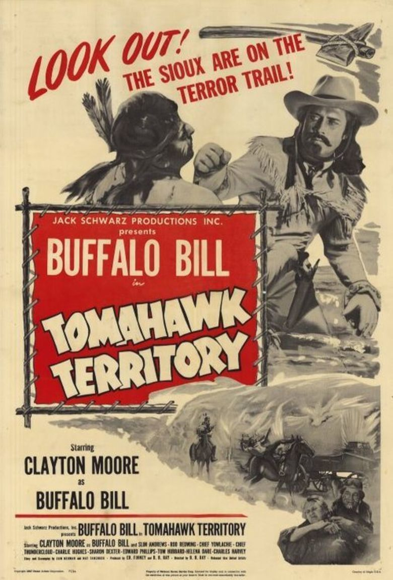 Buffalo Bill in Tomahawk Territory movie poster