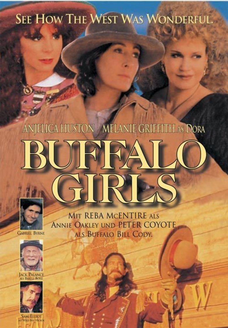 Buffalo Girls (1995 film) movie poster