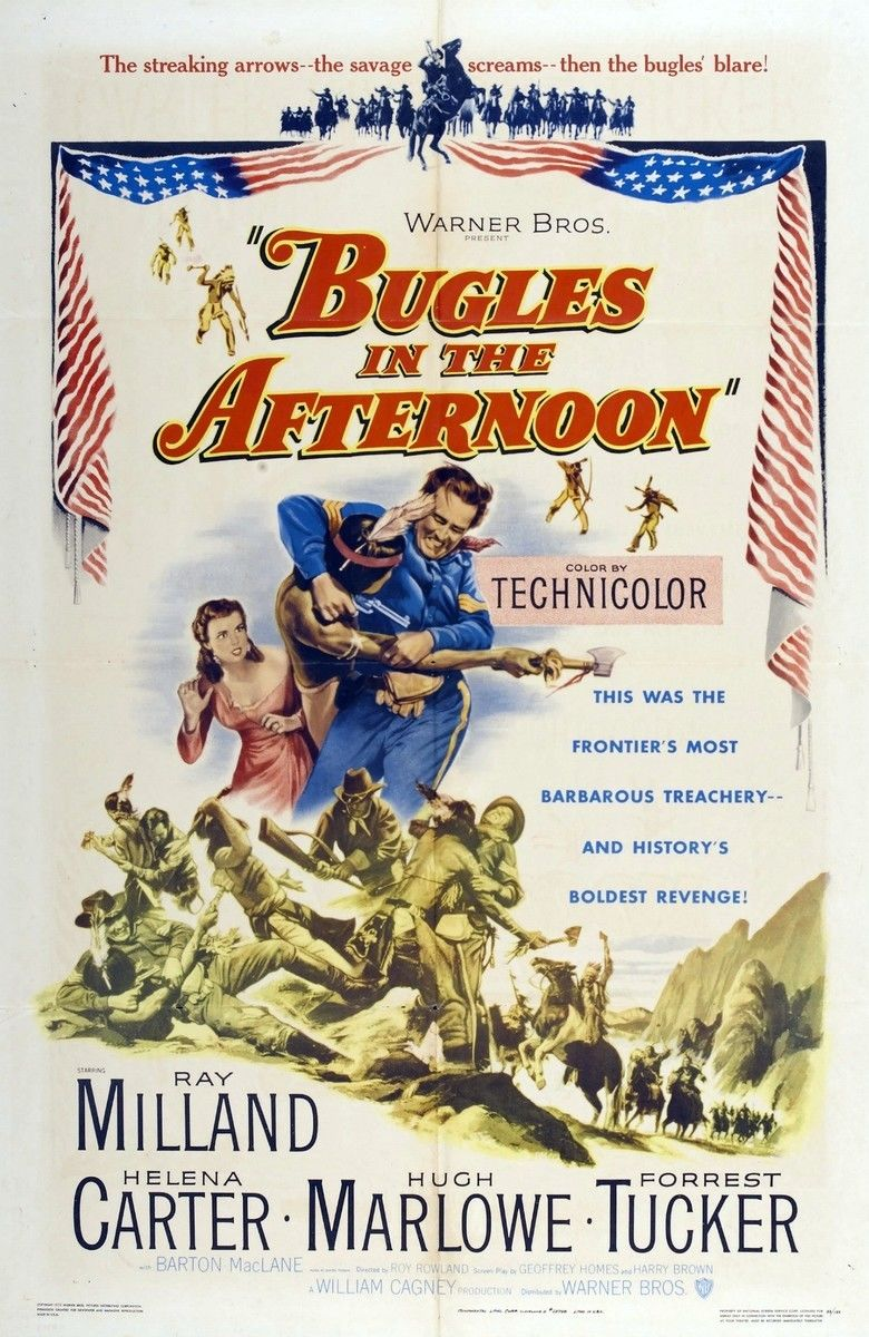 Bugles in the Afternoon movie poster