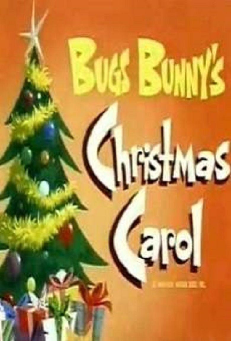 Bugs Bunnys Christmas Carol movie poster