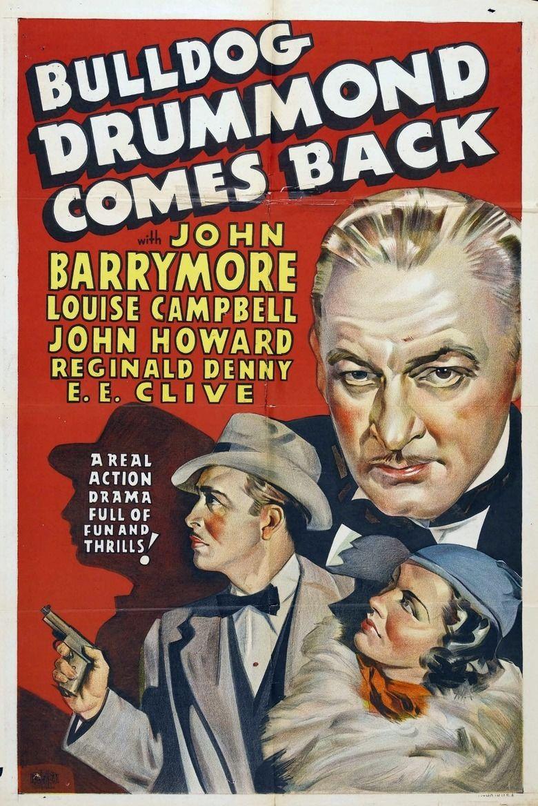 Bulldog Drummond Comes Back movie poster