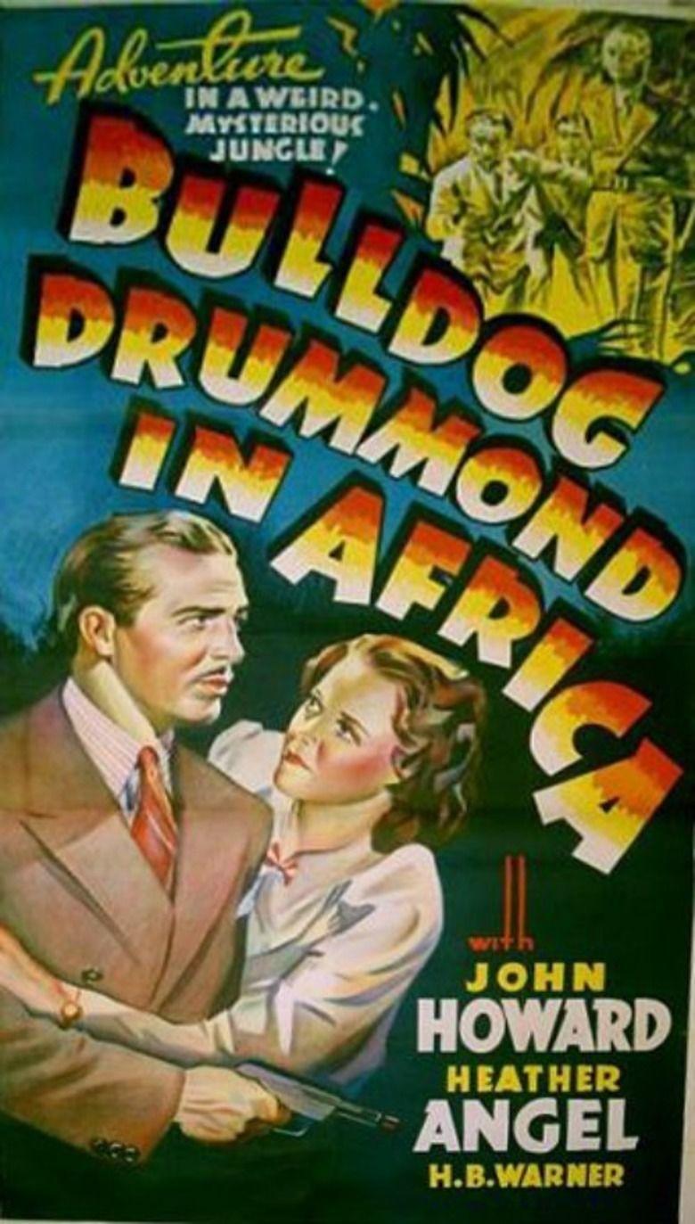 Bulldog Drummond in Africa movie poster