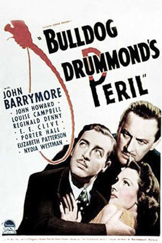Bulldog Drummonds Peril movie poster
