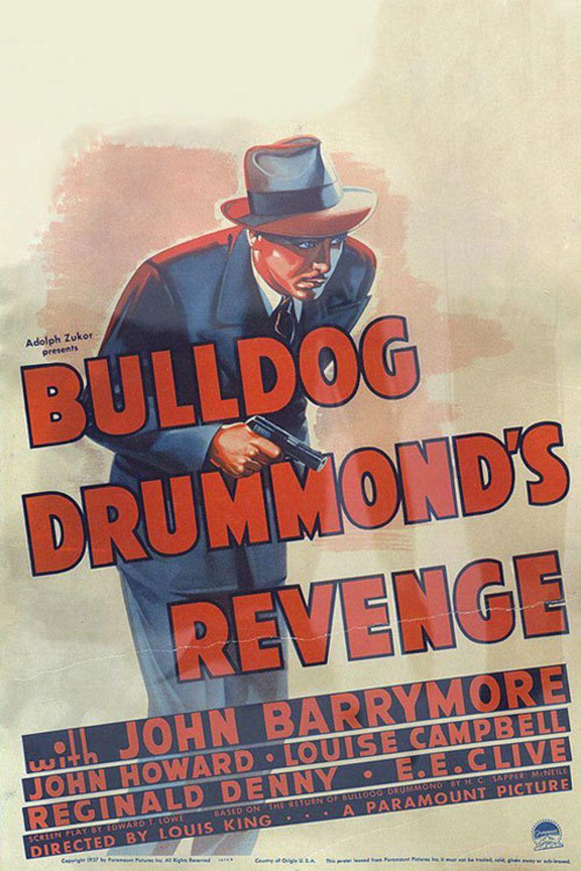 Bulldog Drummonds Revenge movie poster