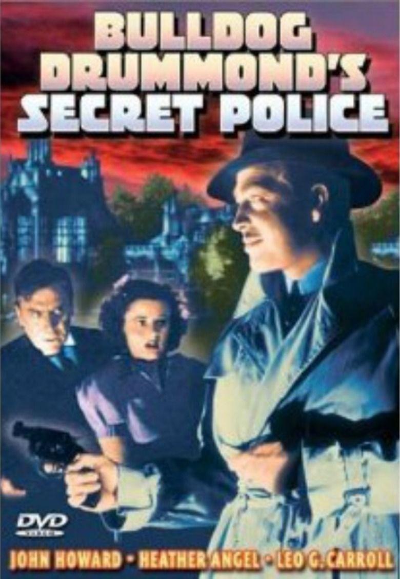 Bulldog Drummonds Secret Police movie poster