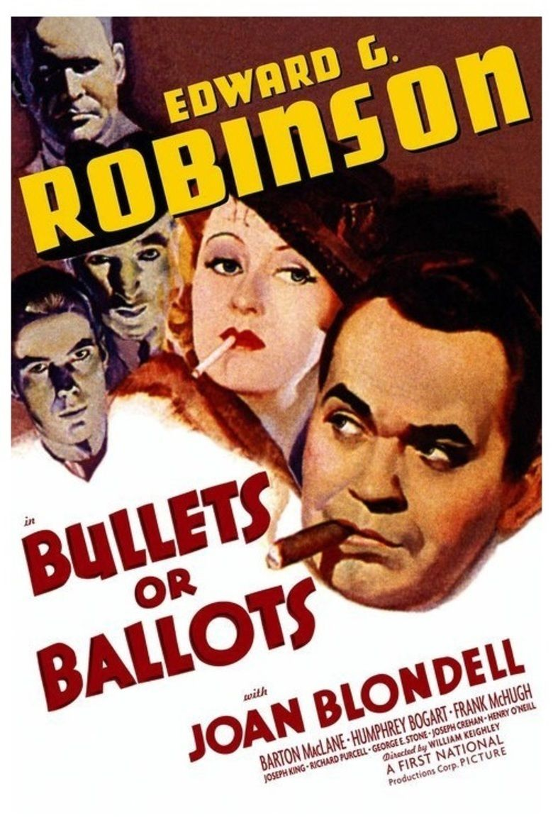 Bullets or Ballots movie poster