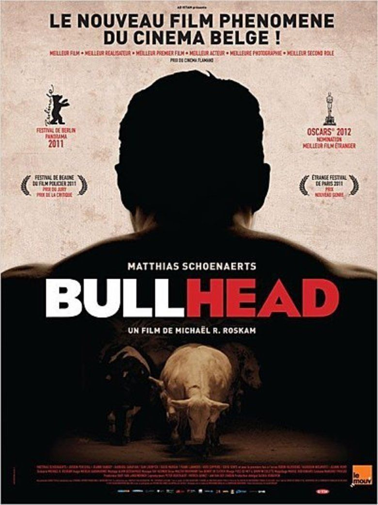 Bullhead (film) movie poster