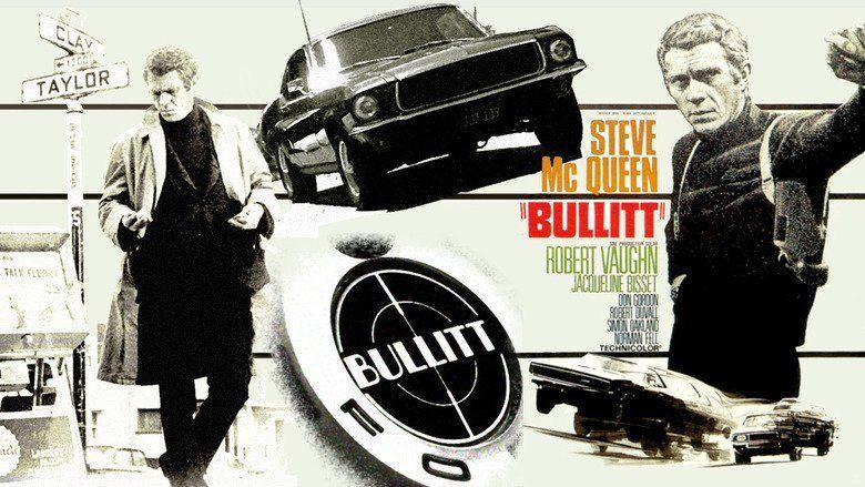 Bullitt movie scenes