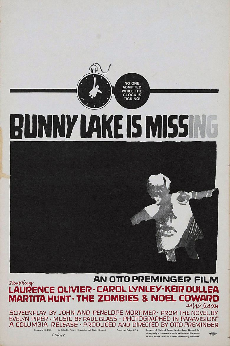 Bunny Lake Is Missing movie poster