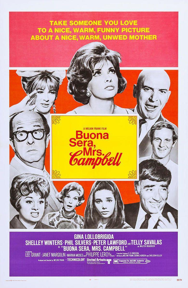Buona Sera, Mrs Campbell movie poster