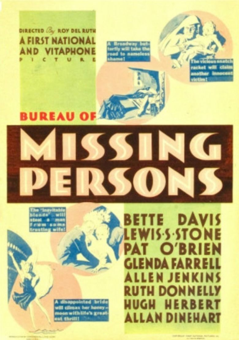 Bureau of Missing Persons movie poster