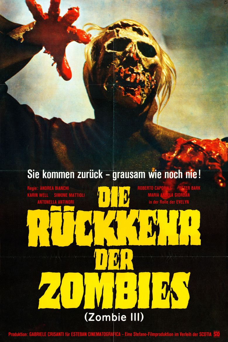 Burial Ground: The Nights of Terror movie poster