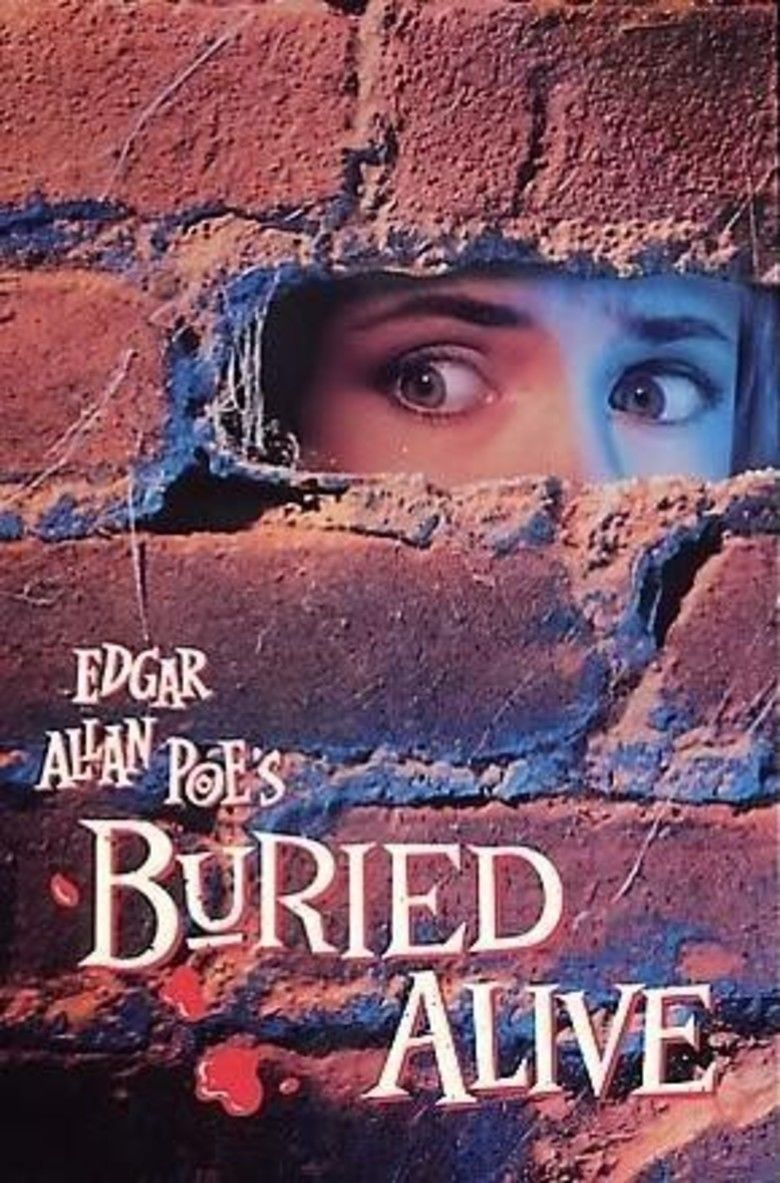 Buried Alive (1990 theatrical film) movie poster