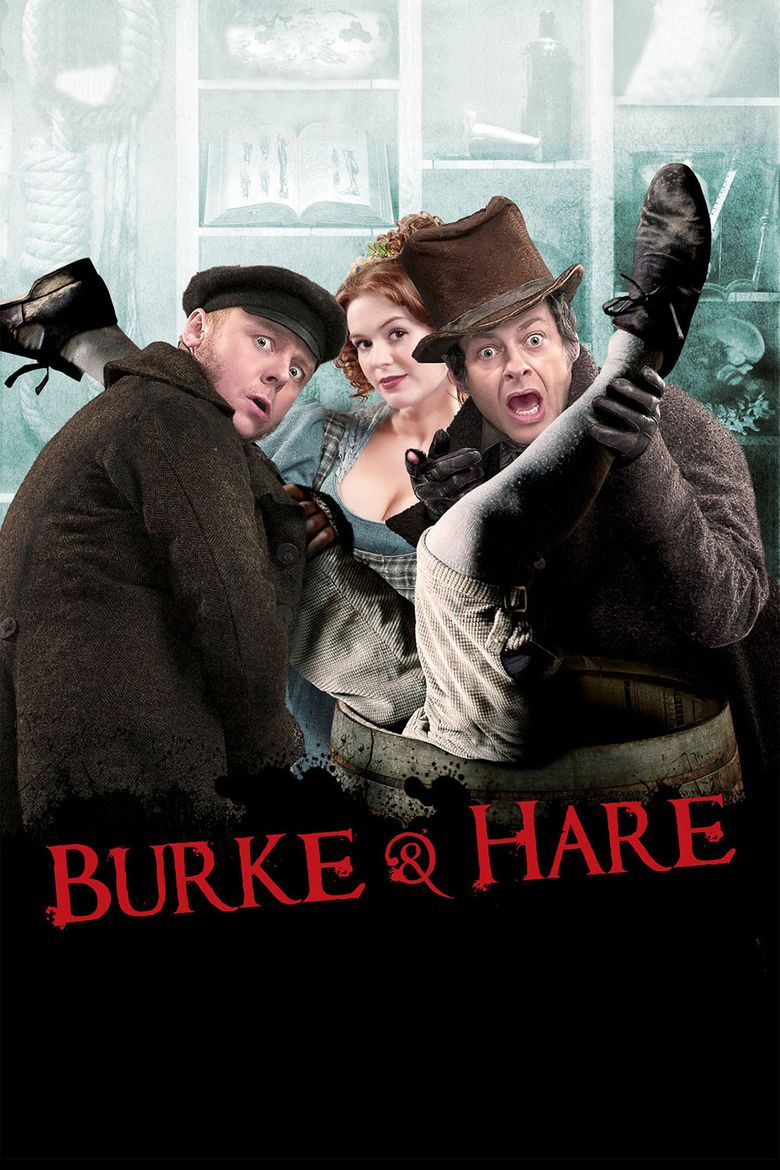 Burke and Hare (2010 film) movie poster