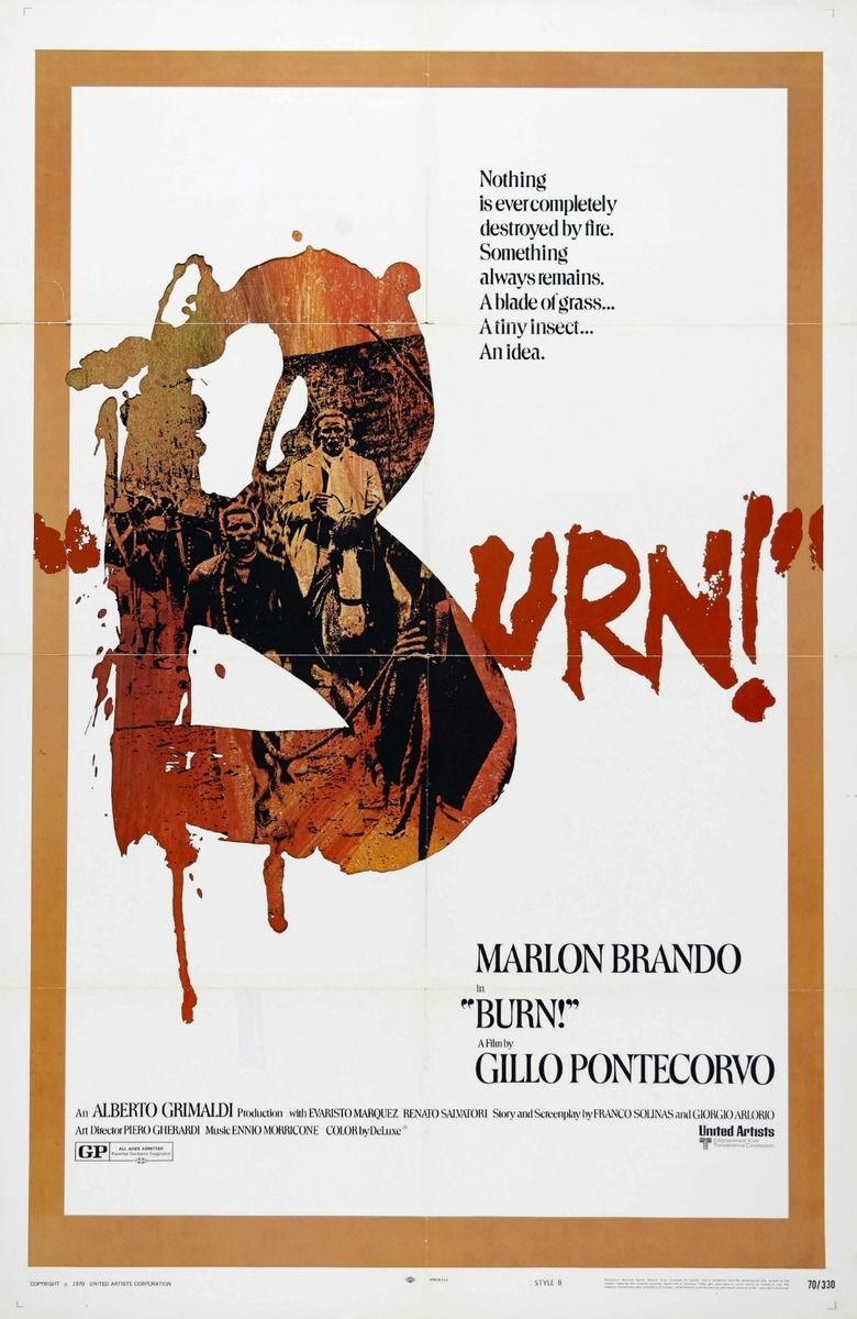 Burn! movie poster