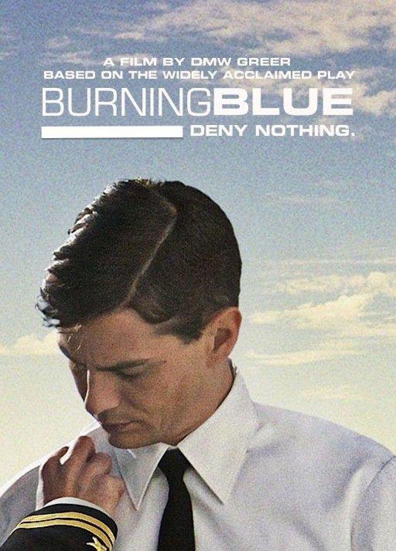 Burning Blue movie poster