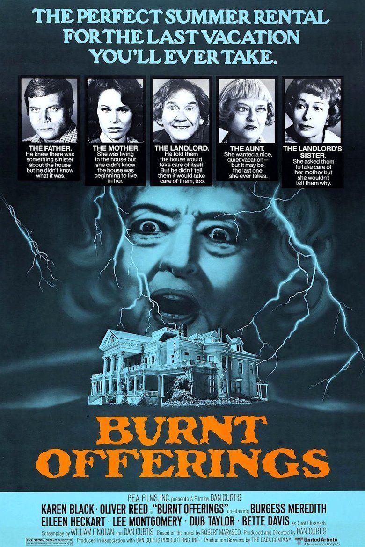 Burnt Offerings (film) movie poster