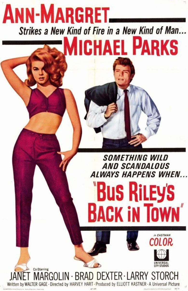 Bus Rileys Back in Town movie poster