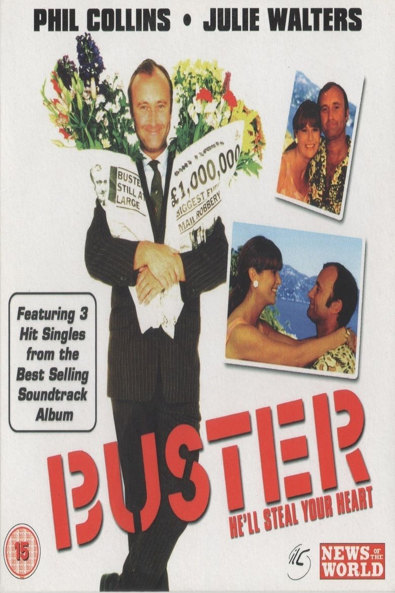 Buster (film) movie poster