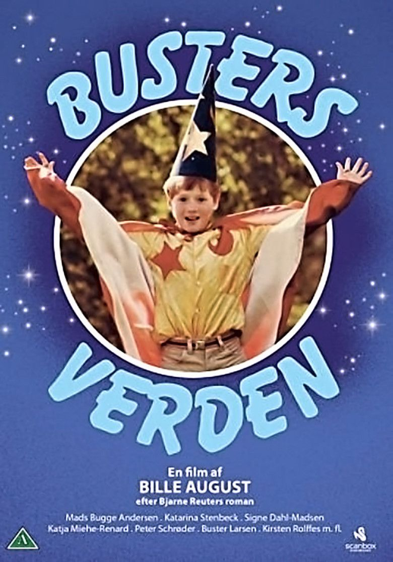 Busters verden movie poster