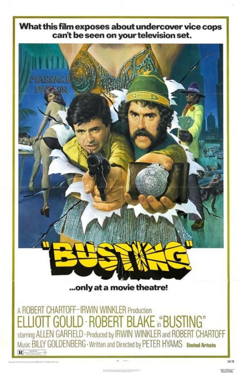 Busting movie poster