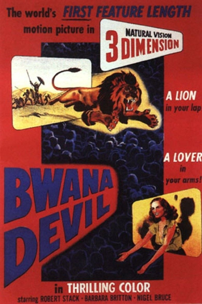 Bwana Devil movie poster