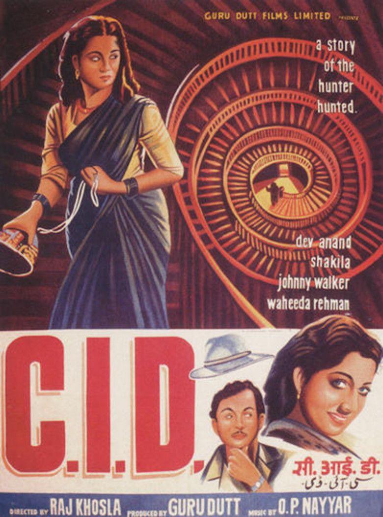CID (1956 film) movie poster