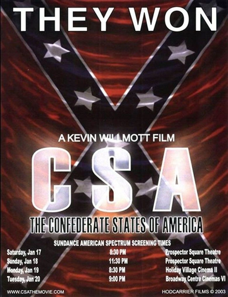 CSA: The Confederate States of America movie poster