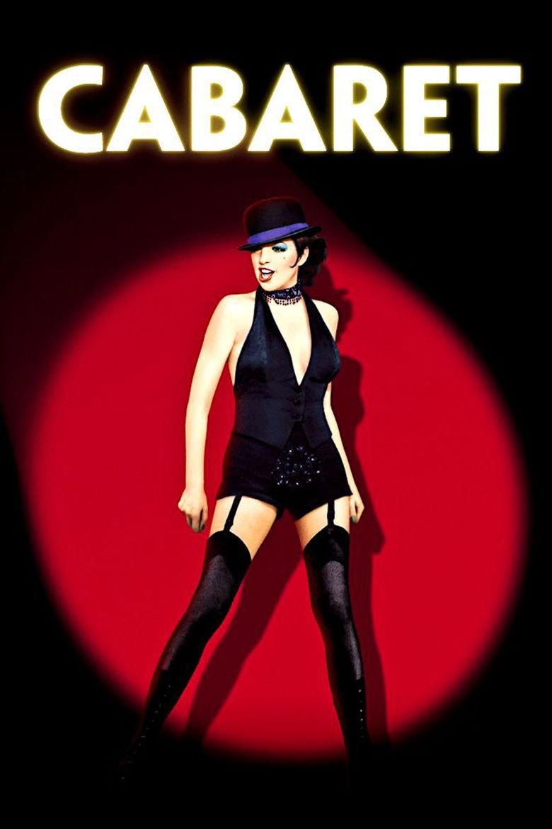 Cabaret (1972 film) movie poster