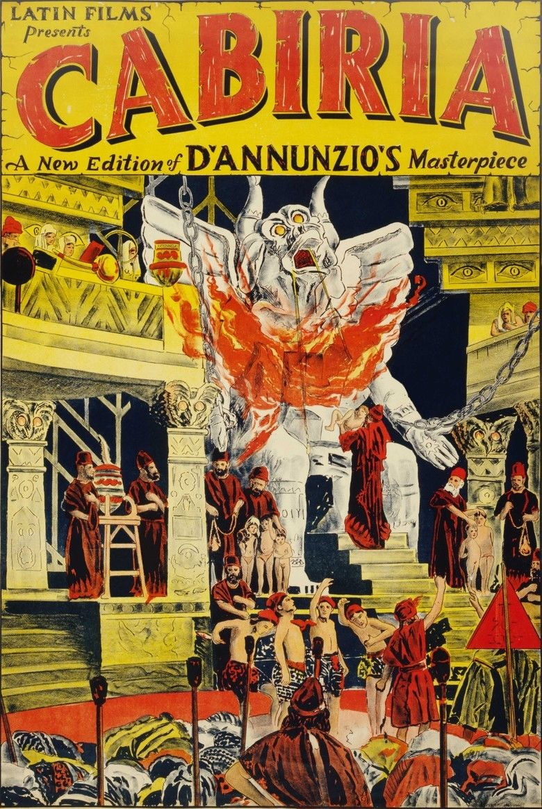Cabiria movie poster