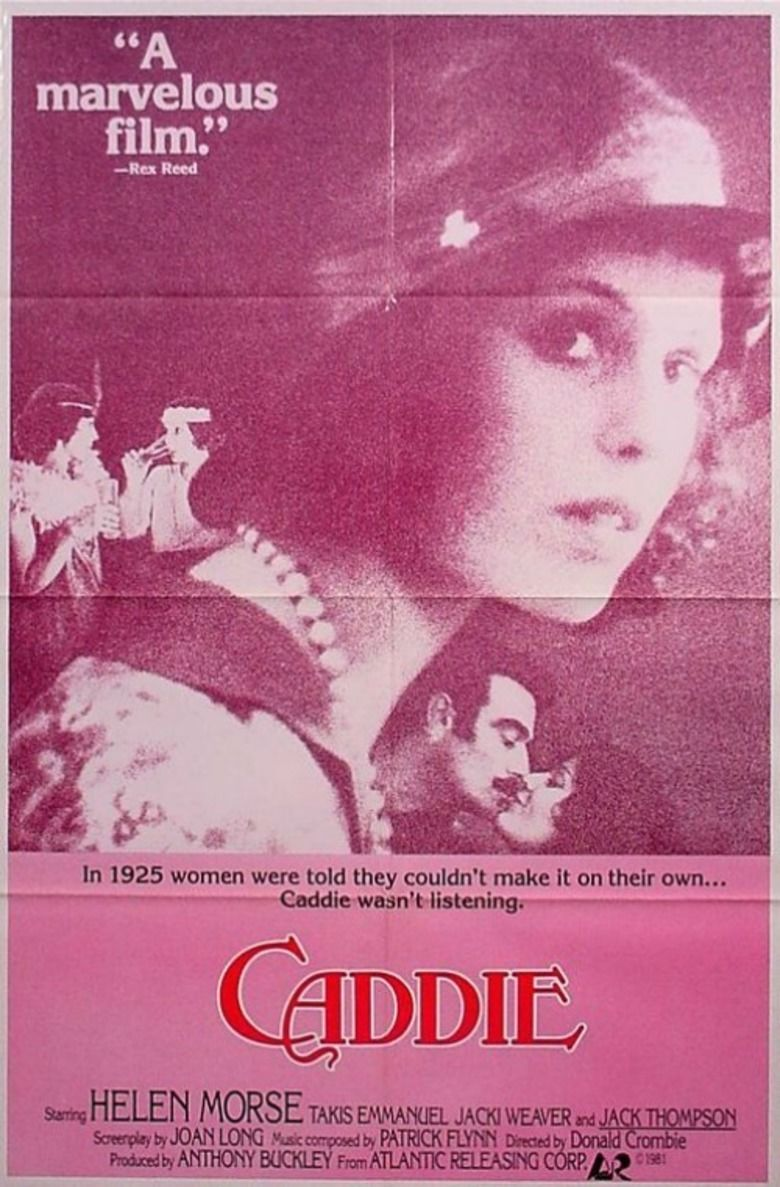Caddie (film) movie poster