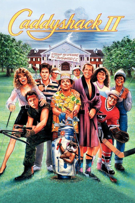 Caddyshack II movie poster
