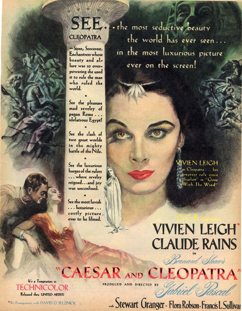 Caesar and Cleopatra (film) movie poster