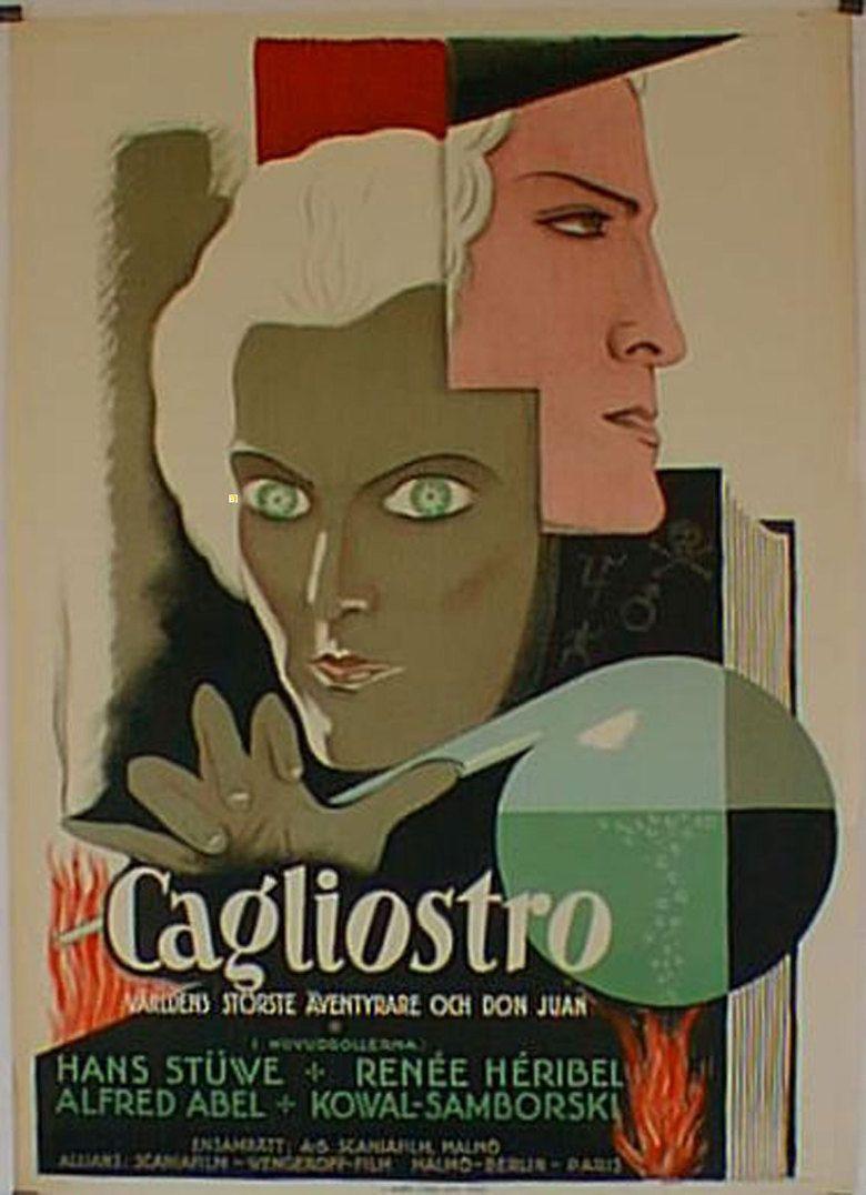 Cagliostro (1929 film) movie poster