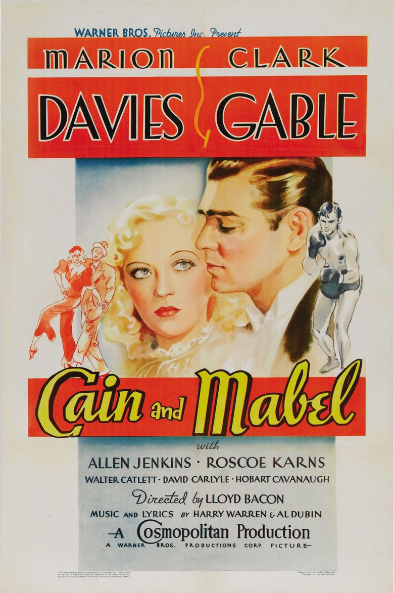 Cain and Mabel movie poster