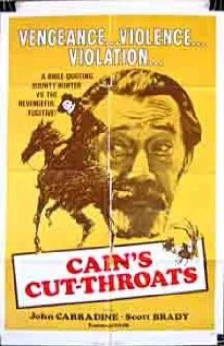 Cains Cutthroats movie poster