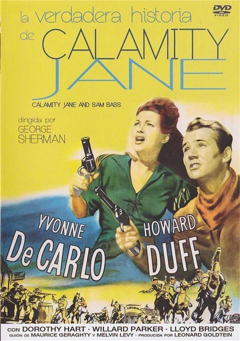 Calamity Jane and Sam Bass movie poster