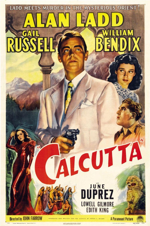 Calcutta (1947 film) movie poster