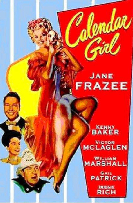 Calendar Girl (1947 film) movie poster