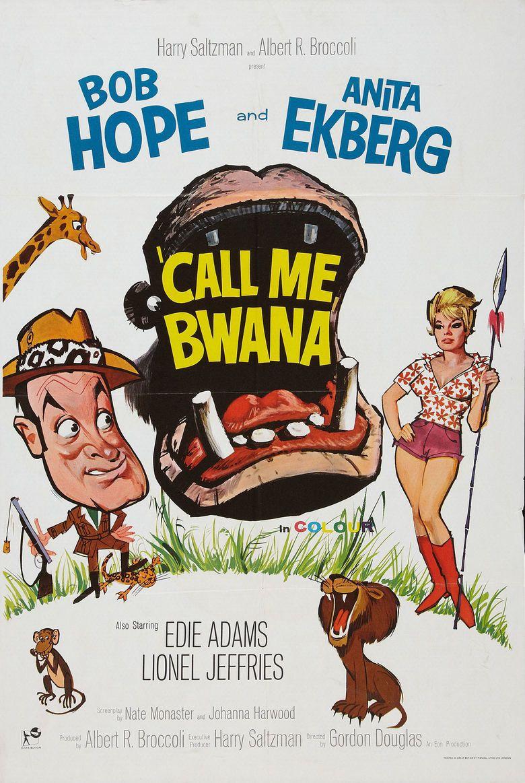 Call Me Bwana movie poster