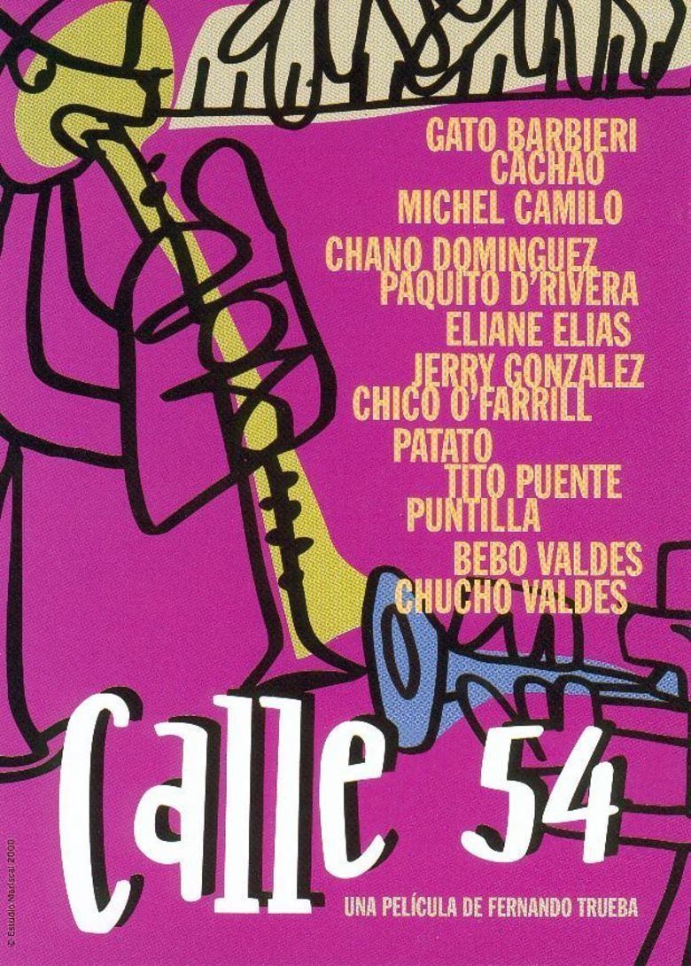 Calle 54 movie poster