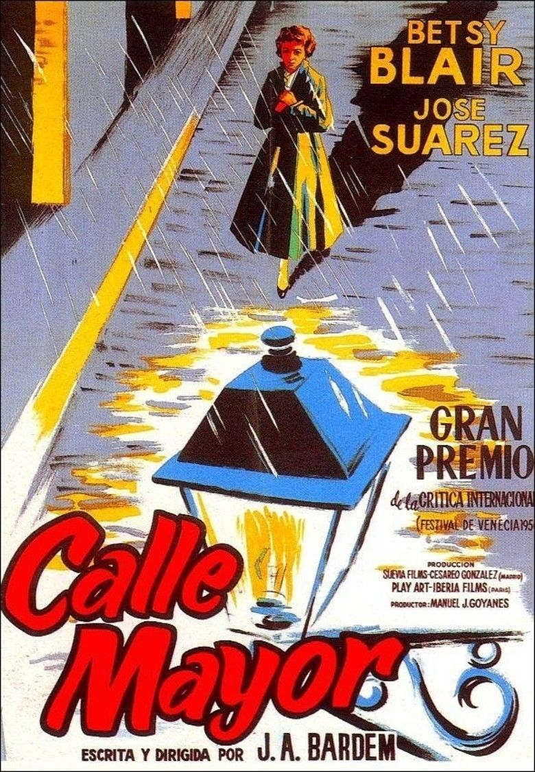 Calle Mayor movie poster