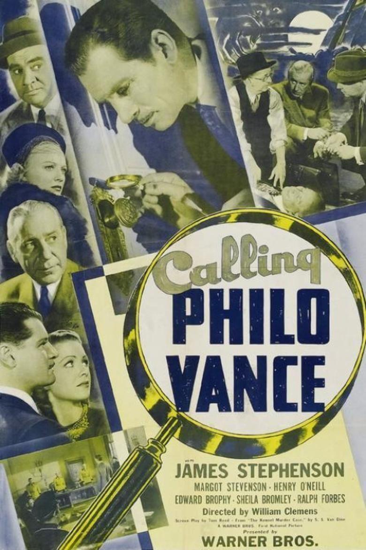 Calling Philo Vance movie poster