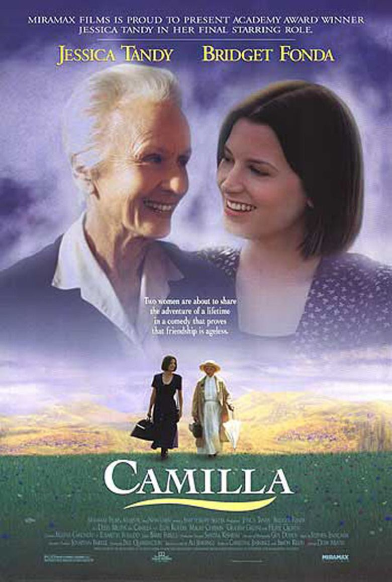 Camilla (film) movie poster