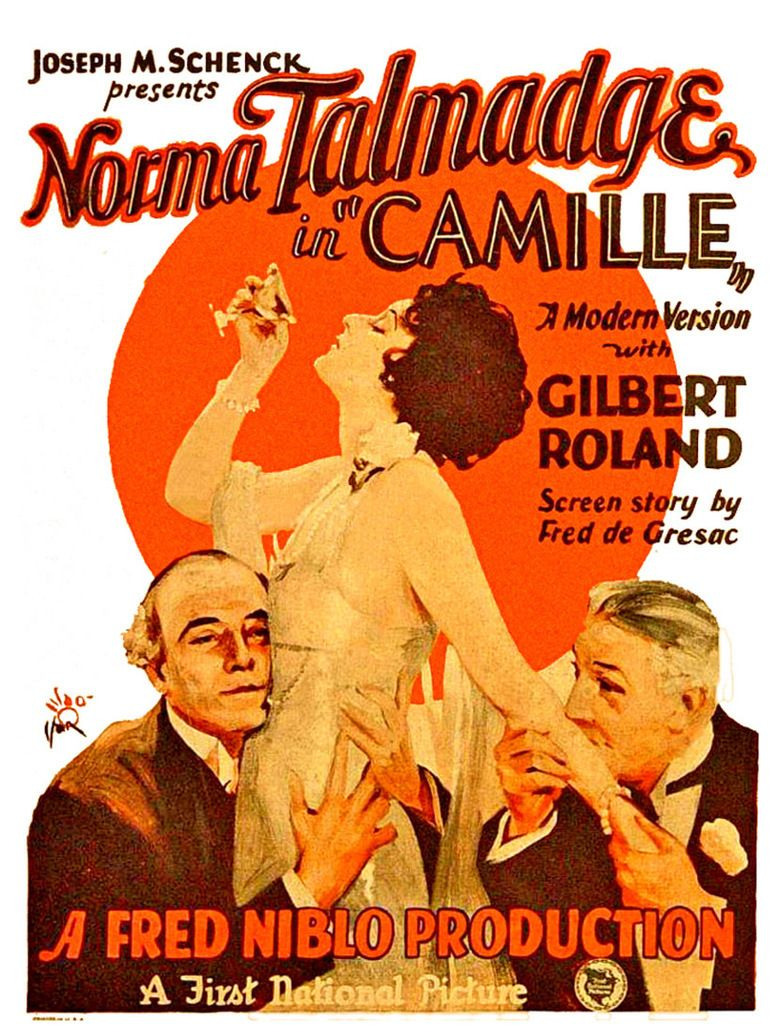 Camille (1926 feature film) movie poster