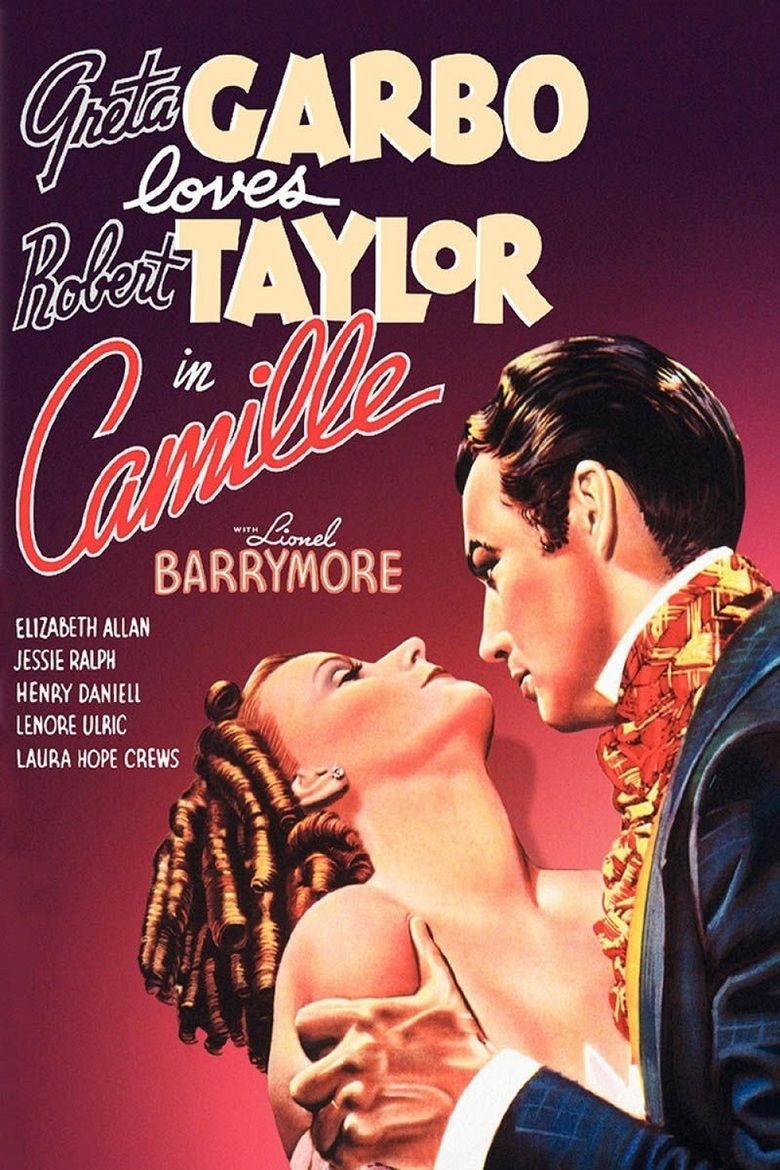 Camille (1936 film) movie poster