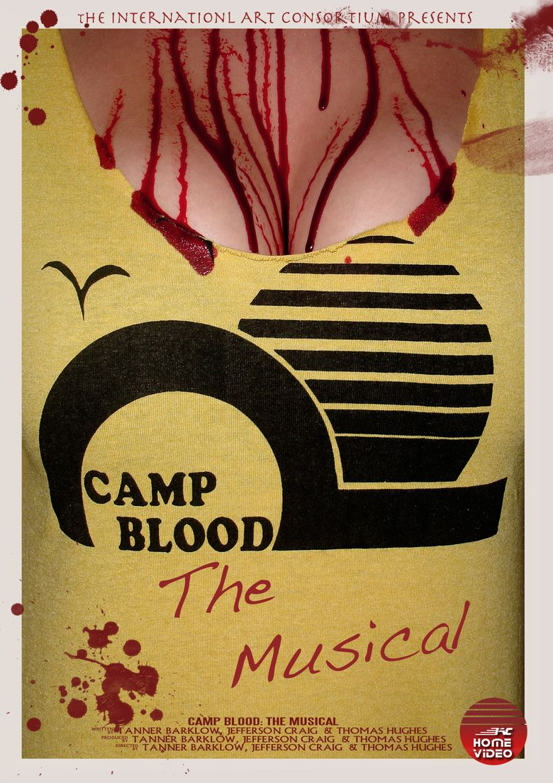 Camp Blood: The Musical movie poster