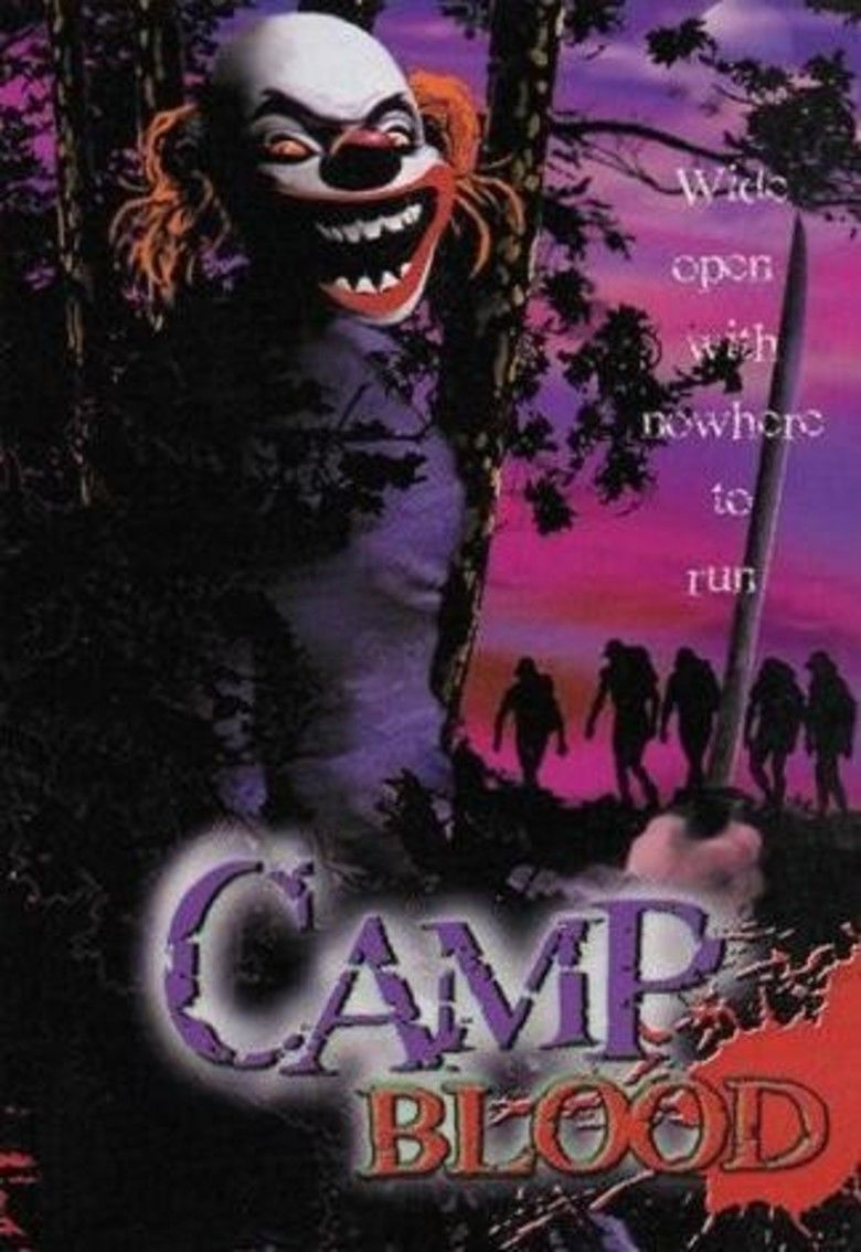 Camp Blood movie poster