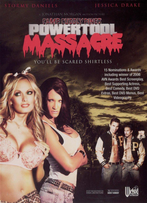 Camp Cuddly Pines Powertool Massacre movie poster
