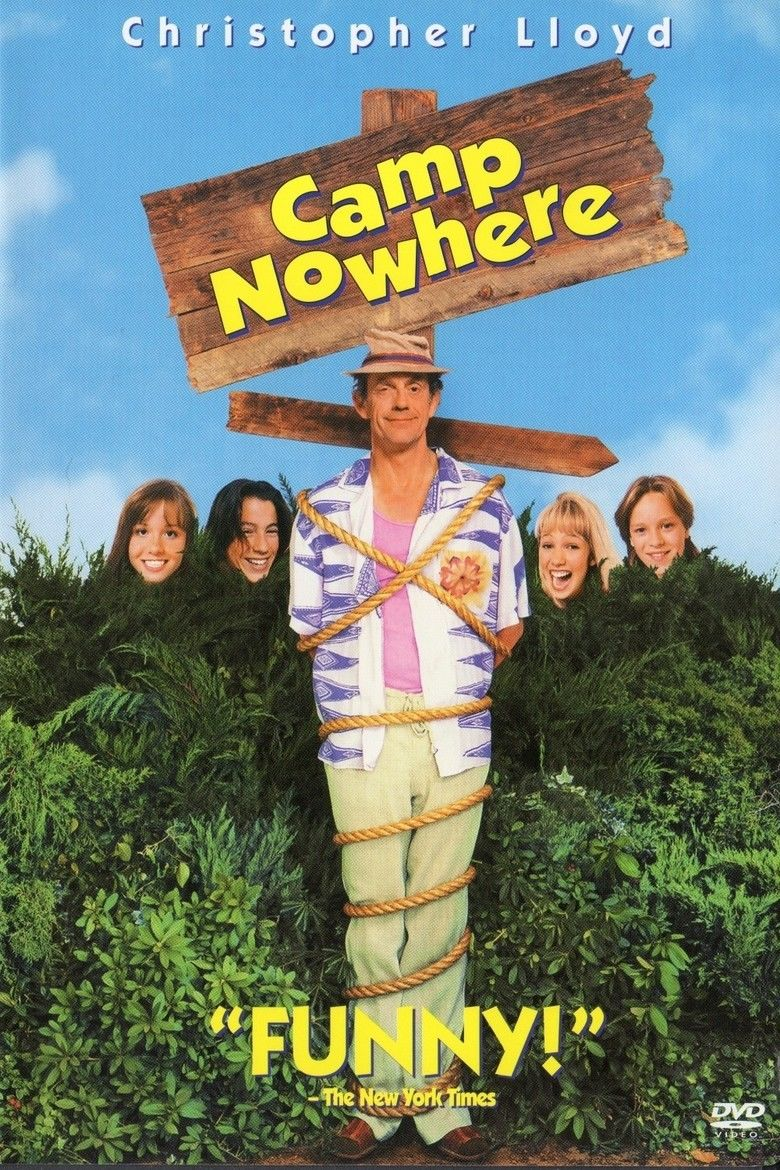 Camp Nowhere movie poster